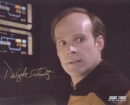 DWIGHT SCHULTZ as Reg Barclay - Star Trek: The Next Generation GENUINE (Star Trek Reg)