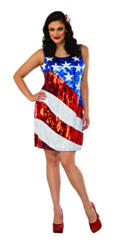 Delicious Sequin Front Pull Over Dress Oh Beautiful!, Multi, 1X ()