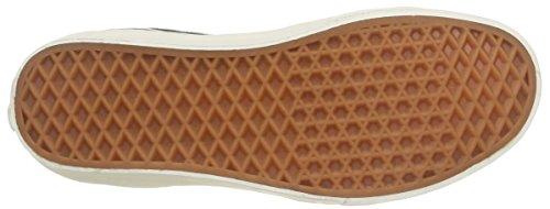 Vans Unisex Sk8-hi Scarpe Da Skate Di Ristampa (suede Di Maiale / Pile) Nero / Bianco