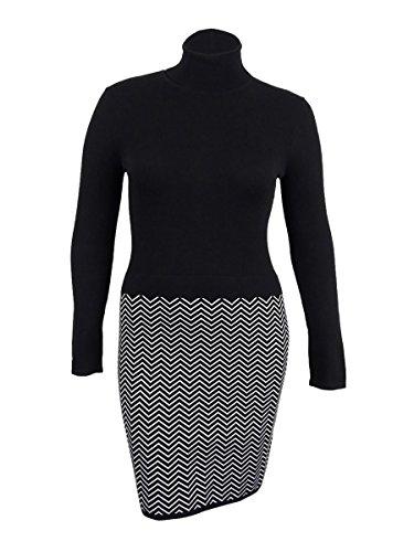 Lauren Ralph Lauren Womens Petite Chevron Print Sweater Dress (PXS, ()