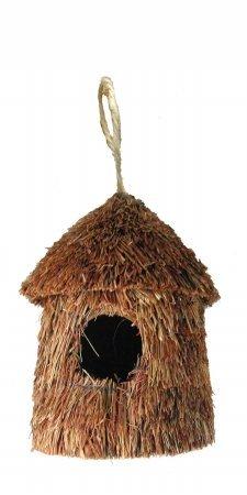 UPC 017783015749, Tierra Garden N1574 6-1/2-Inch Grass High Bird Hut, Brown