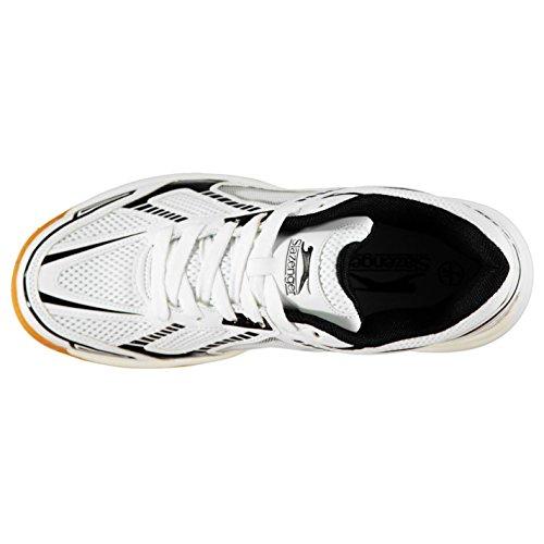 Deporte Negro Hombre De Blanco Indoor Slazenger Zapatillas wzTRnq