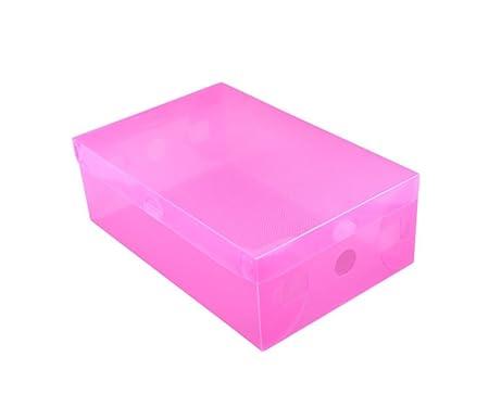 Kentop Zapatos Caja Rodamiento de buzón Buzón Caja Transparente ...