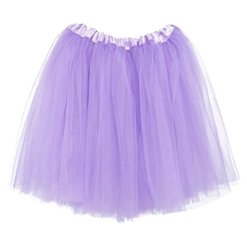 My Lello Big Girls Tutu 3-Layer Ballerina (4T-10yr) Light Lavender]()