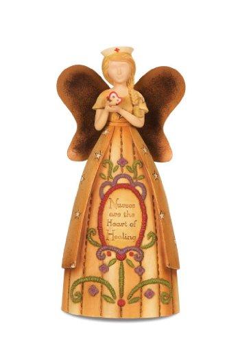 Pavilion Gift Company Country Soul 29035 Angel Figurine, Nurse, (Collectible Nurse Angel Figurine)