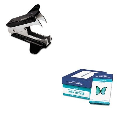 KITHAM104612UNV00700 - Value Kit - Hammermill Laser Print Office Paper (HAM104612) and Universal Jaw Style Staple Remover (UNV00700)