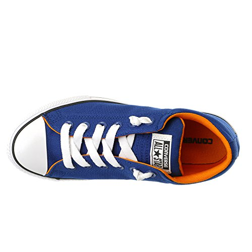 Canvas WHITE CTAS Street Boy Sneaker LT ORANGE Gr Jungen 654262F Roadtrip 36 Converse Slip BLUE anqpO4wp