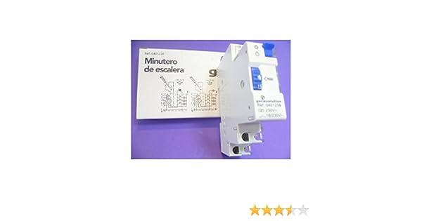 Minutero de escalera guias DIN: Amazon.es: Bricolaje y herramientas