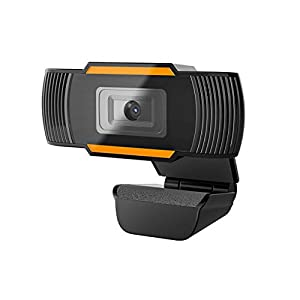 1080P Webcam with Microphone USB 20 PC Laptop Desktop Web Camera for Video Calling Studying Online class