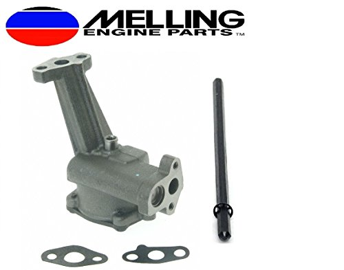 (Melling M83 Stock Volume Oil Pump & Drive Shaft compatible with Ford sb 351W 5.8L Windsor (Stock Pump))