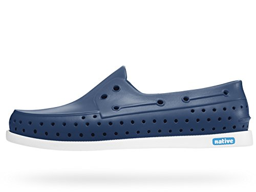 Inheemse Heren Howard Sneaker Regatta Blauw / Schelp Wit