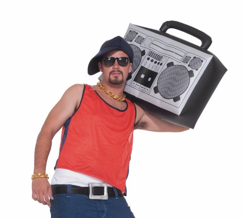 Hip Hop Inflatable Boom Box (Party Costumes)
