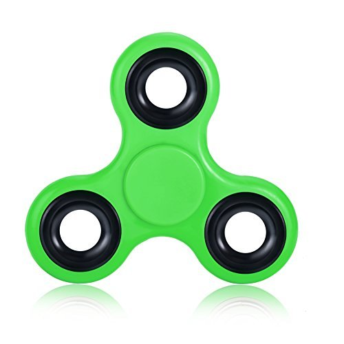 High Grade Fidget Spinner Equpped with Stainless Steel Bearing - High Grade Stress Relief Fidget Toy - Green Spinner