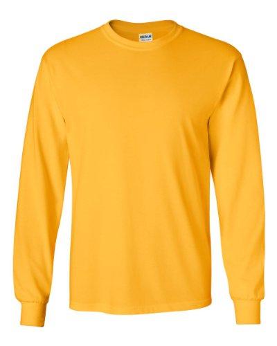 UPC 667548879293, Gildan Men's Ultra Cotton Long-Sleeve T-Shirt gold 5X