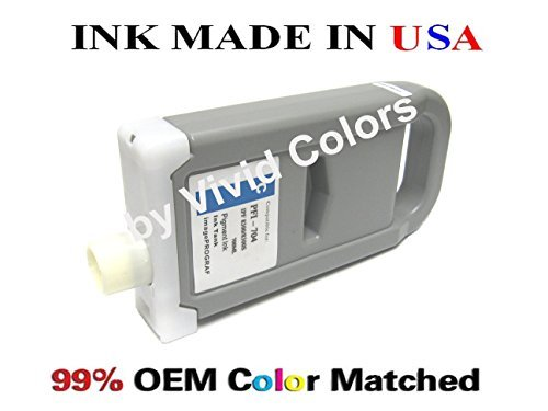 (New PFI-704 Compatible cartridge for Canon IPF8300s- CYAN)