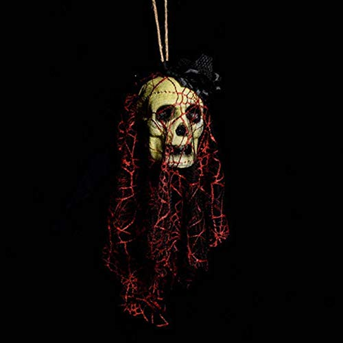 Party Diy Decorations - Halloween Skull Face Bar Haunted Home Decoration Props Bubble Simulation Bleeding Head Cemetery - Decorations Party Party Decorations Creepy Horror Halloween Graveyard Sk -