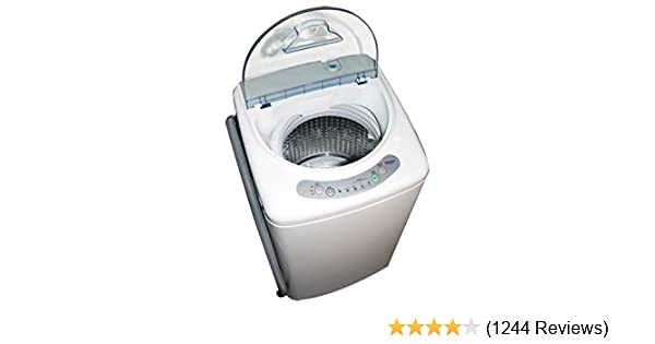 amazon com haier hlp21n pulsator 1 cubic foot portable washer