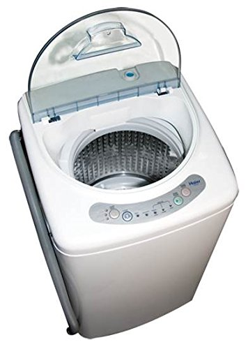 Haier HLP21N Pulsator 1-Cubic-Foot Portable Washer (Machine Laundry)