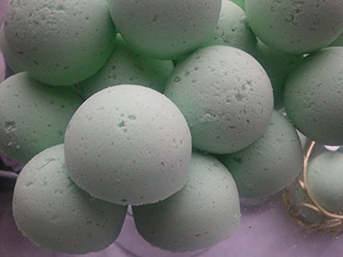 14 CALABRIAN BERGAMOT AND VIOLET Bath Bomb Fizzies with Shea, Mango and Cocoa Butter, Ultra Moisturizing (12 Oz), Great for Dry Skin (Calabrian Bergamot and Violet FBA)
