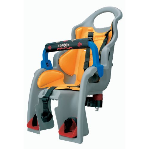 Topeak BabySeat Child Bike Seat with Aluminum Rack (Disc Mount Version) by Topeak