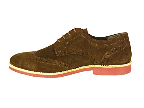 Red Tape Brickhill Braun Wildleder Herren Brogues