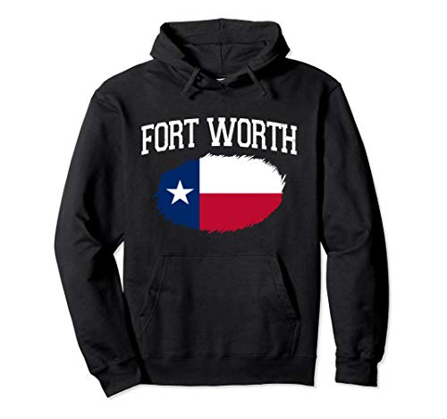 FORT WORTH TX TEXAS Flag Vintage USA Sports Men Women Pullover Hoodie (In Worth Fort Tx Universities)
