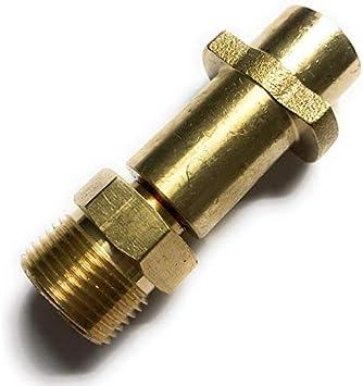 M22 x 1,5 IG /& adaptateur /à ba/ïonnette et adaptateur KEW /& 2 buses /& Quick Connect /& EASY!Lock 8 pi/èces pour K/ärcher Kr/änzle NILFISK ALTO WAP HD HDS connecteur 1//8 AG Tuyau de nettoyage