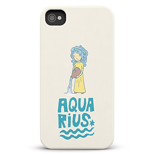 Koveru Back Cover Case for Apple iPhone 4/4S - Aquarius