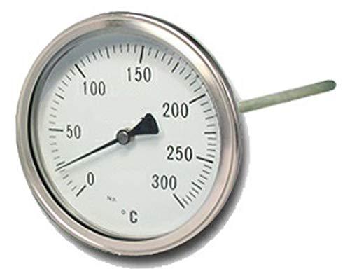 Termómetro para Puertas de Horno de leña, Escala de 0 a 300ºC con ...