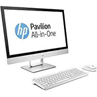 HP Pavilion 24 Desktop 1TB SSD WIN 10 PRO (Intel Core i5-8400T processor with TURBO BOOST to 3.30GHz, 16 GB RAM, 1 TB SSD, 24' TOUCHSCREEN FullHD, Win 10 PRO) PC Computer All-in-One