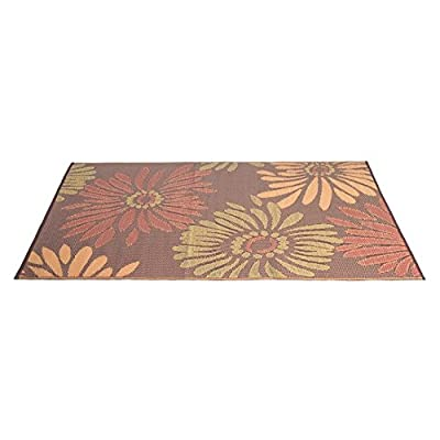 eLuxurySupply Outdoor Rug - Mad Mats | UV Fade Resistant | Waterproof Woven Outdoor Mat | 100% Recycled & Reversible Polypropylene Plastic Wicker| Non-Slip | Beach Deck & Doormat | Multiple Colors - ENVIRONMENTALLY FRIENDLY - 100% Recycled Polypropylene (Plastic Milk Jugs, Containers & etc.) and Enriched with the Highest Quality Colorants FADE RESISTANT - State-of-the-Art UV Protectors to Ensure Colors Will Not Fade in Even the Toughest Sun Conditions; Mad Mats - 1 Year Guarantee WATERPROOF & EASY CLEAN - Completely Weatherproof & Non Slip | Easy Cleaning - Rinse Off with A Hose and Environmentally-Friendly Soap - living-room-soft-furnishings, living-room, area-rugs - 41ZEW499oBL. SS400  -