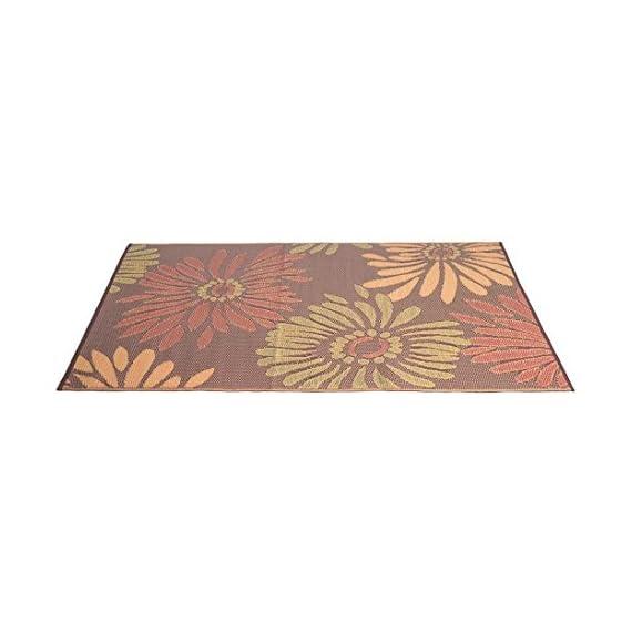 eLuxurySupply Outdoor Rug - Mad Mats | UV Fade Resistant | Waterproof Woven Outdoor Mat | 100% Recycled & Reversible Polypropylene Plastic Wicker| Non-Slip | Beach Deck & Doormat | Multiple Colors -  - living-room-soft-furnishings, living-room, area-rugs - 41ZEW499oBL. SS570  -
