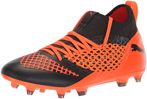 Ag Netfit Future Puma Soccer 2 Orange Black Fg 3 shocking Men's Shoe PUMA wCgqIYw