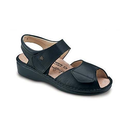 Finn Comfort Soft Faro Womens Sandals Black Nappa npVAl