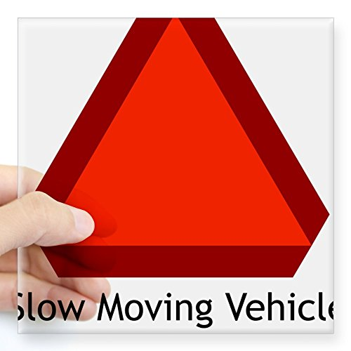 CafePress Moving Vehicle Rectangle Sticker