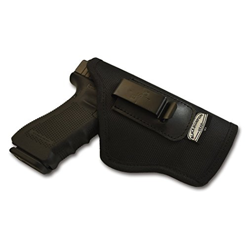 WHOLEGUNS Black Scorpion Outdoor Gear IWB Holster Nylon 1680D. Concealed Carry Springfield XD, XDM Sig P320f, P226 Glock 17, 22 Beretta 92F S&W MP F 9-40 HK P7, VP9 FN P45, P9, All 1911, Cz P07