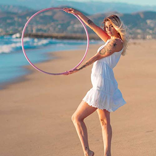 The Spinsterz Customizable Polypro Hula Hoop | Best for Tricks and Advanced Hoop ()
