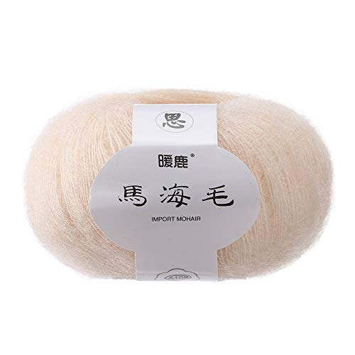 Hot Sale!DEESEE(TM)Soft Mohair Cashmere Knitting Wool Yarn DIY Shawl Scarf Crochet Thread Supplies (M)