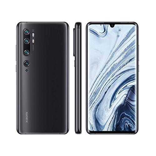 Xiaomi Mi Note 10 Smatphone 6GB RAM + 128GB ROM, Pantalla Curva 3D de 6.47″, NFC Multifuncional, 108MP AI Penta Cámara Trasera, Versión Global, Negro