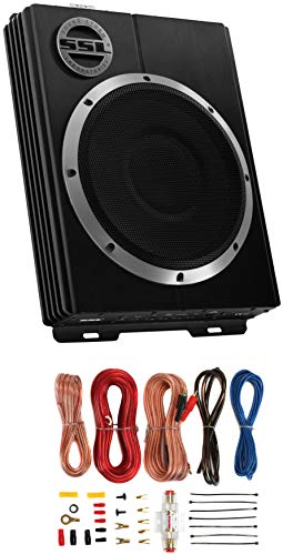 """Sound Storm Low Profile 8"""" Subwoofer with Remote (LOPRO 8)"""