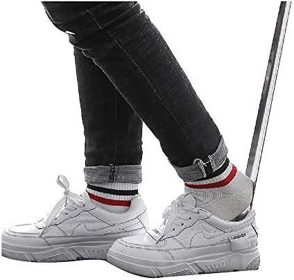 くつべら スポーツの靴、革の靴、ハイヒールのためのステンレス製の靴べら、プロの長いハンドル靴リフター、多次元、 (Size : L70cm)