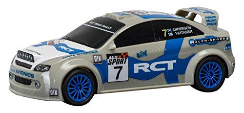 (Scalextric RCT Team Rally Car Finland Slot Car (1: 32 Scale))