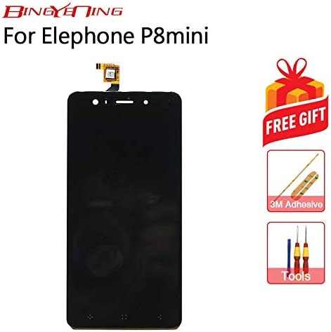 AiBaoQi For Elephone P8 Mini Touch Screen + LCD Display Assembly Replacement (Black Version 1): Amazon.es: Electrónica