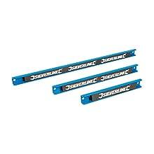 Silverline 633950 Tiras magnéticas, 3 pzas 200, 300 y 460 mm