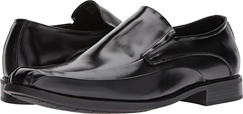STACY ADAMS Men's Elston Bike Toe Slip On Loafer Black 11.5 D US