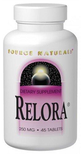 Source Naturals RELORA, 250mg, 45 comprimés