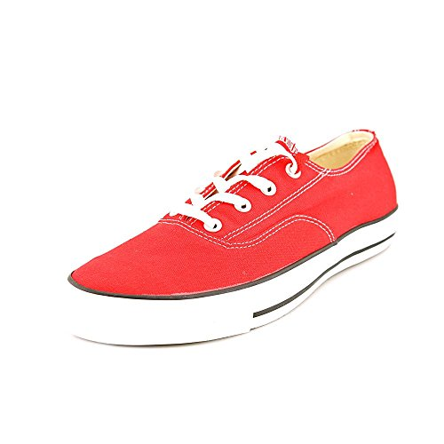 Converse Mens Ct Clean Sneakers Ox Rosso