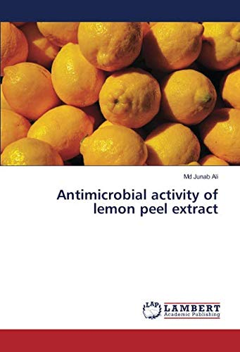 Antimicrobial activity of lemon peel extract