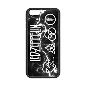 Cyber Monday Store Customize Rubber Led Zeppelin Back Cover TPU Case for 4.7