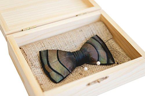Brackish-Feather-Pre-tied-Bow-tie-Original-101-BRK